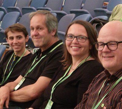 von links: Guili Oliveira, Jochen Breutner-Menschick, Andrea Schätzle, Joachim Schätzle