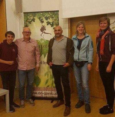 von links: Guili Oliverira, Joachim Schätzle, Herr Altay, Lisa Zimmer, Katharina Kreis